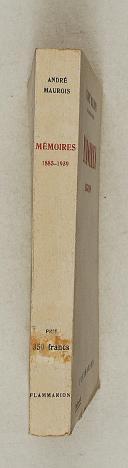 MAUROIS – Mémoires 1885-1939   (2)