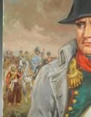 Photo 4 : LELIEPVRE EUGÈNE : Portrait de l'Empereur Napoléon 1er en redingote, huile sur toile, Fin XXème siècle.