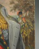 Photo 5 : LELIEPVRE EUGÈNE : Portrait de l'Empereur Napoléon 1er en redingote, huile sur toile, Fin XXème siècle.