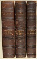 SAINTINE. Histoire de l'expédition française en Égypte d'après les mémoires, matériaux, documents inédits.