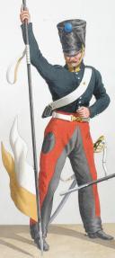 Photo 2 : 1822. Chasseurs à Cheval. Chasseur-Lancier, Brigadier (20e Régiment - du Var).