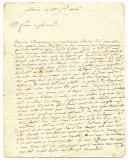Photo 2 : 3 LETTRES DE BERNARD FERRAN, CAPITAINE DE GRENADIERS, À SA MÈRE ET À SA SOEUR, 1806-1807.