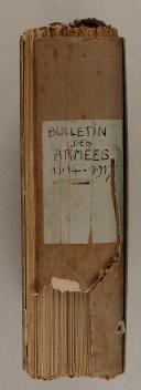 Photo 3 : BULLETIN DES ARMÉES DE LA RÉPUBLIQUE, Réservé à la zone des armées. 1914-1917.