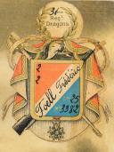 Photo 3 : SOUVENIR DU 31e RÉGIMENT DE DRAGONS, 1914