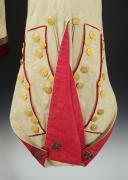 UNIFORME ET BONNET DE POLICE DE CAPITAINE EN SECOND DE COLONEL GÉNÉRAL, RÈGLEMENT DE 1786, ANCIENNE MONARCHIE, RÈGNE DE LOUIS XVI, VERS 1786-1789. (12)