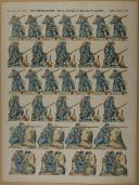 """PELLERIN - """" Infanterie à l'Attaque """" - Imagerie d'Épinal - n° 177 (1)"""