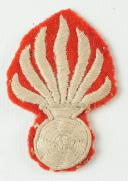 GRENADE DE RETROUSSIS D'UNIFORME TROUPE DE LA GARDE NATIONALE, MONARCHIE DE JUILLET. (1)