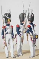 Photo 2 : 1830. Garde Royale. Infanterie (5e Régiment). Caporal de Grenadiers, Fusiliers.