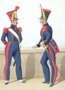 1824. Génie. Caporal de Mineurs, Musicien. (2)
