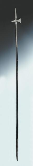 Photo 5 : ESPONTON DE 2ème OU 3ème PORTE-AIGLE, au règlement du 23 août 1809, modifié le 25 décembre 1811, Premier Empire.