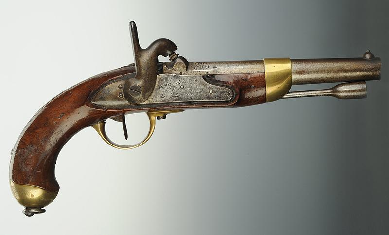 Pistolet de cavalerie mod le 1822 t second empire for Pistolet de decoration