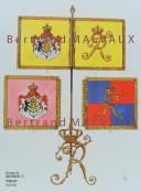 RIGO (ALBERT RIGONDAUD) : LE PLUMET PLANCHE D12 : DRAPEAUX ÉTENDARDS ROYAUME DE WURTEMBERG (I) 1811-1814