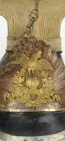 CZAPSKA DE TROMPETTE DE LANCIER DE LA GARDE NATIONALE À CHEVAL PARISIENNE DE LA 13ème LÉGION, MODÈLE 1830, MONARCHIE DE JUILLET. (2)