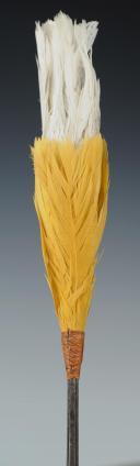Plumet de shako d'officier de l'état-major régimentaire des Voltigeurs de la Garde, modèle 1860, Second Empire. (3)