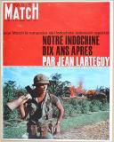 """PARIS MATCH - """" Notre Indochine dix ans après par Jean Larteguy """" - Magazine - septembre 1965"""