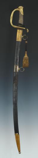 SABRE D'OFFICIER DE LA GARDE NATIONALE, MODÈLE 1821, MONARCHIE DE JUILLET. (1)