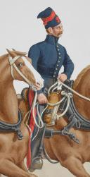 1830. Garde Royale. Train d'Artillerie. Canonnier Conducteur. (2)