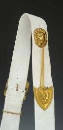 Photo 3 : GIBERNE D'OFFICIER DE CAVALERIE, MODÈLE 1830, MONARCHIE DE JUILLET.