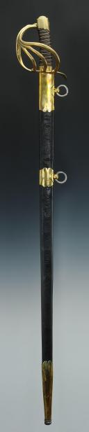 SABRE DE DRAGON, MODÈLE DE L'AN XI (1803 - 1809), PREMIER EMPIRE. (10)