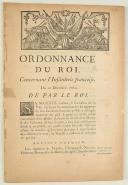 Photo 1 : ORDONNANCE DU ROI, concernant l'Infanterie françoise. Du 10 décembre 1762. 42 pages