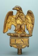 Photo 1 : AIGLE DE DRAPEAU DE LA GARDE NATIONALE, MODÈLE 1852, PRÉSIDENCE DE LOUIS-NAPOLÉON.