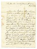 LETTRE D'UNE MÈRE ( de Courlon) À SON FILS, LE SOLDAT N. MAILLIARD, le 8 germinal an 4 (avril 1796), 1796.