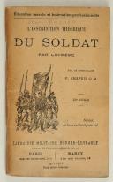 Photo 1 : Cdt CHAPUIS - -Instruction théorique du soldat par lui-même