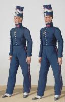 Photo 2 : 1830. Garde Royale. Infanterie (2e Régiment). Caporal de Grenadiers, Fusiliers.