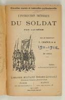 Photo 2 : Cdt CHAPUIS - -Instruction théorique du soldat par lui-même