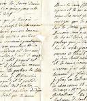 Photo 3 : LETTRE D'UNE MÈRE ( de Courlon) À SON FILS, LE SOLDAT N. MAILLIARD, le 8 germinal an 4 (avril 1796), 1796.