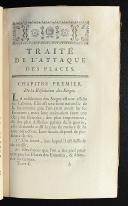 Photo 4 : TRAITÉ DE L'ATTAQUE DES PLACES PAR M. LE MARÉCHAL DE VAUBAN 1779. DEUX TOMES