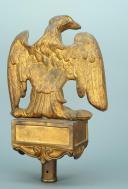Photo 5 : AIGLE DE DRAPEAU DE LA GARDE NATIONALE, MODÈLE 1852, PRÉSIDENCE DE LOUIS-NAPOLÉON.