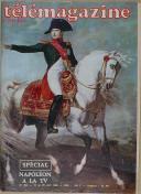 """Photo 1 : TÉLÉMAGAZINE RADIO - """" Napoléon à la TV """" - Numéro spécial - 19 au 25 avril 1969"""