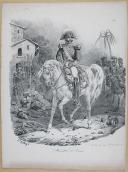 """BELLANGÉ - """" Maréchal de France """" - Gravure - n° 11 - Restauration (1)"""