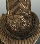 Paire d'épaulettes d'intendant général, modèle 1921, Troisième République, ayant appartenue à Eugène SEURAT. (3)
