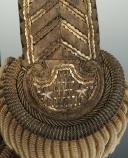Paire d'épaulettes d'intendant général, modèle 1921, Troisième République, ayant appartenue à Eugène SEURAT. (4)