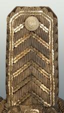 Paire d'épaulettes d'intendant général, modèle 1921, Troisième République, ayant appartenue à Eugène SEURAT. (5)