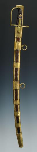 SABRE D'ENFANT, DU MODÈLE DES HUSSARDS, VERS 1760, ANCIENNE MONARCHIE.