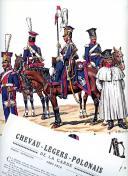Photo 1 : ROUSSELOT LUCIEN : CHEVAU-LÉGERS-POLONAIS DE LA GARDE 1807 -1814.
