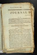 JOURNAL DE L'EMPIRE. Janvier 1806.  (1)