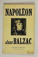 """Photo 1 : BALZAC – """" Napoléon dans Balzac """""""
