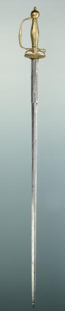 Photo 2 : ÉPÉE DE COUR EN BRONZE DORÉ, 18ème siècle.