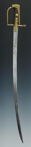 Photo 3 : SABRE D'ENFANT, DU MODÈLE DES HUSSARDS, VERS 1760, ANCIENNE MONARCHIE.