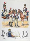 L'ARMEE FRANCAISE Planche No 15 - CUIRASSIERS - L. Rousselot (1)