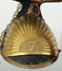 Photo 2 : CZAPSKA D'OFFICIER DU 7ème RÉGIMENT DE LANCIERS, modèle 1854, Second Empire.