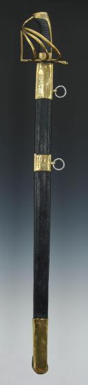 SABRE DE DRAGON DU DUCHÉ DE BADE, MODÈLE DE 1780, VERS 1780-1800.  (2)