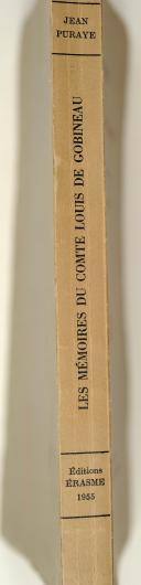 Photo 2 : Les Mémoires du Comte Louis de Gobineau.