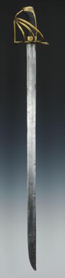 SABRE DE DRAGON DU DUCHÉ DE BADE, MODÈLE DE 1780, VERS 1780-1800.  (3)