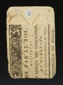 Photo 3 : PLANCHE DE TAILLEUR MILITAIRE DE 24 BOUTONS D'OFFICIER, Révolution.