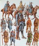Photo 4 : LILIANE ET FRED FUNCKEN, Collection Casterman : LES COSTUMES ET LES ARMES DES SOLDATS DE TOUS LES TEMPS. TOME 2.